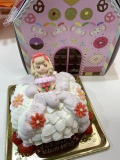 ドレスケーキ、立体、女の子、夢