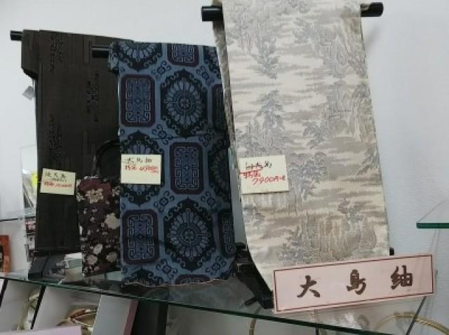 リサイクル大島紬,訪問着・留袖・振袖セール開催中❗️着物 帯 小紋 色無地 訪問着 留袖 振袖 大島紬 絣